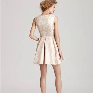 Rachel Zoe Daria Brocade Dress Size 0 Nwt